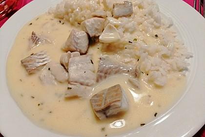 Fisch in Limetten-Holundersauce (Bild)