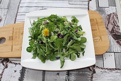 Unkraut-Salat