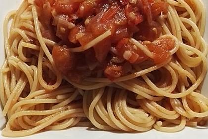Spaghetti aglio e olio speciale alla Katharina (Bild)