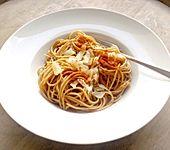 Einfachste, schnellste Spaghetti ohne Sauce (Bild)