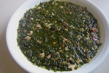 Schrat`s einfache Grünkohlsuppe mit Dinkel 1
