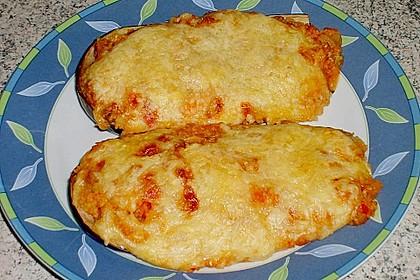 Gefüllte Auberginen mit Couscous 2