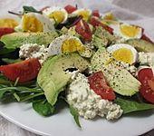 Avocado - Hüttenkäse - Salat