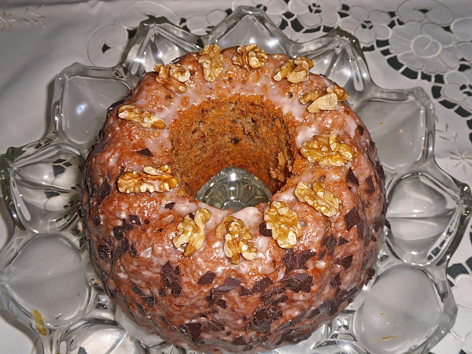 Apfel Walnuss Kuchen Von Myram Chefkoch De
