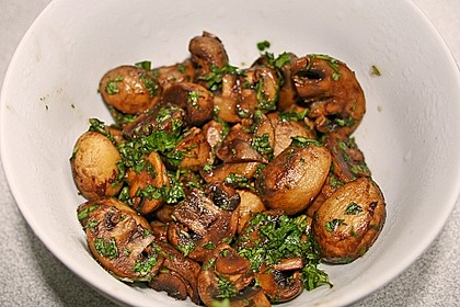 Champignons, italienisch