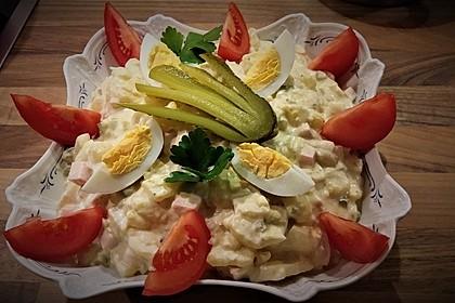 Omas bester Kartoffelsalat mit Mayonnaise 8