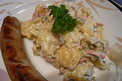Omas bester Kartoffelsalat mit Mayonnaise 12