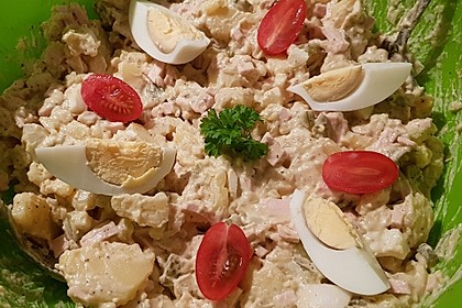 Omas bester Kartoffelsalat mit Mayonnaise 13