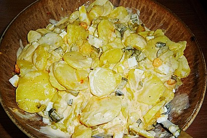Omas bester Kartoffelsalat mit Mayonnaise 101