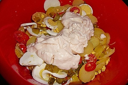 Omas bester Kartoffelsalat mit Mayonnaise 104