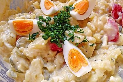 Omas bester Kartoffelsalat mit Mayonnaise 9