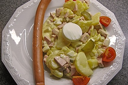 Omas bester Kartoffelsalat mit Mayonnaise 44