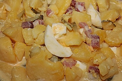 Omas bester Kartoffelsalat mit Mayonnaise 65