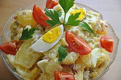 Omas bester Kartoffelsalat mit Mayonnaise 5