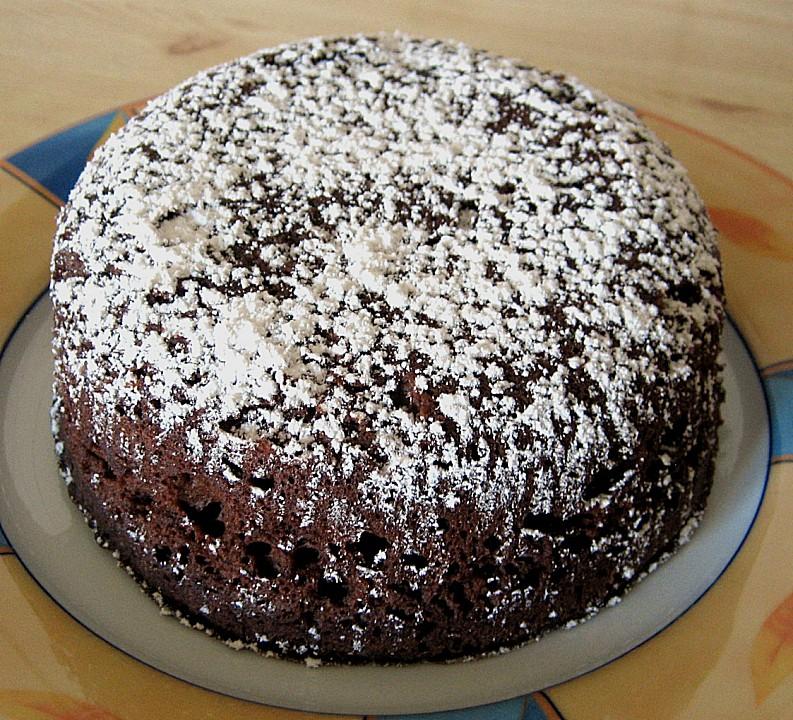 Schokoladenkuchen Fur Die Mikrowelle Von Jessi22 Chefkoch De