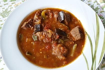 Gulaschpfanne mit Schmorgemüse 1