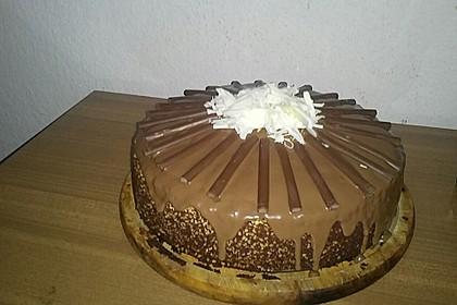 Schoko - Nuss - Kuchen ohne Mehl (Bild)