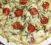 Spargelpizza (Bild)