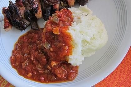 Braai-Sauce - Südafrikanische Tomatensauce