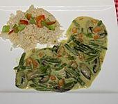Gelbes Kokos-Curry (Bild)