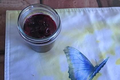 Einfache Himbeer-Kirsch-Marmelade (Bild)