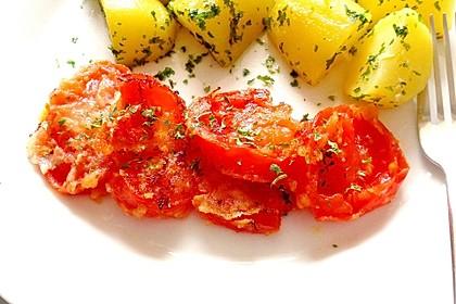 Gebratene Tomaten (Bild)