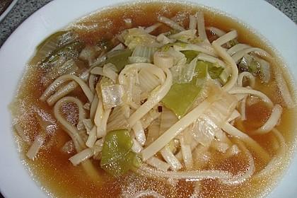 Asiatische Ramennudel-Suppe (Bild)