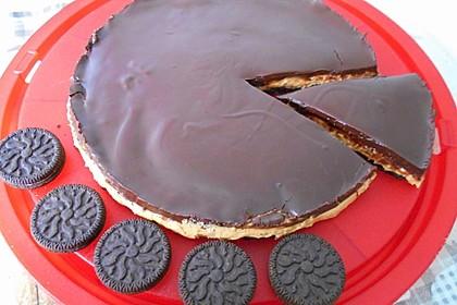 Oreo-Erdnussbutter-Kuchen (Bild)