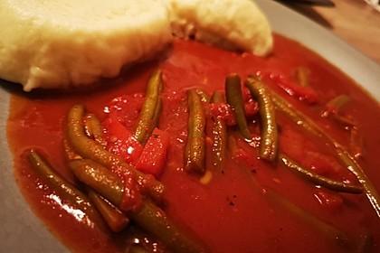 Paprika-Bohnen-Gulasch (Bild)