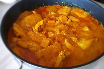 Kürbis-Hähnchen-Curry (Bild)