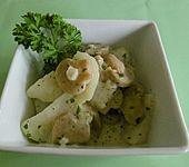 Kohlrabi mit heller Sauce und Champignons (Bild)