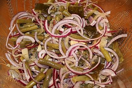 Bohnensalat, einfach (Bild)