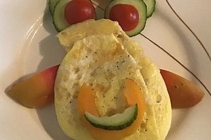 Frühstück für Kinder mit Omelett (Bild)