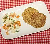Zucchini-Pfannkuchen (Bild)
