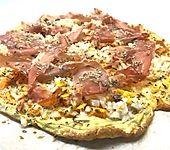 Kürbis-Pizzaboden (Bild)