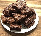 Brownies - saftig  und schokoladig (Bild)