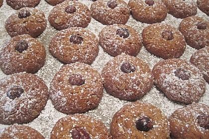 Würzige Haferflocken-Kekse (Bild)