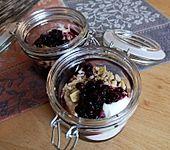 Heidelbeer-Quark-Dessert (Bild)