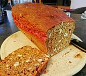 Rote Bete Brot für den Brotbackautomaten (Bild)