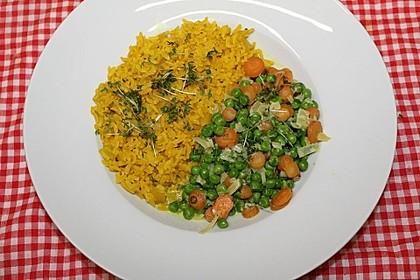 Erbsen-Möhren-Gemüse (Bild)