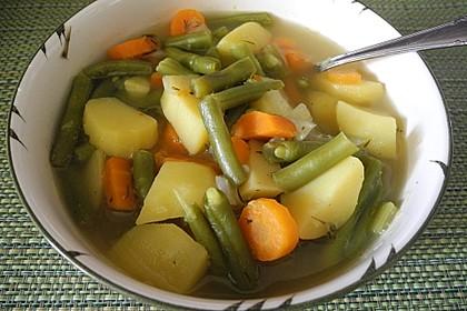 Schnelle Bohnensuppe (Bild)