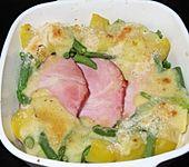 Kartoffel-Gratin mit Kasseler (Bild)