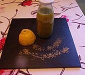 Olivenöl mit Oregano, Thymian und Honig (Bild)
