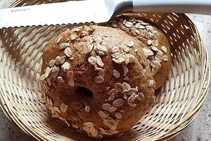 Vollkorn - Bagels (Bild)