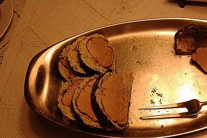 Schweinefilet im Mangoldmantel (Bild)