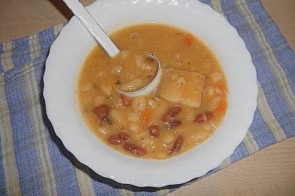 Leonas Original Serbische Bohnensuppe 2