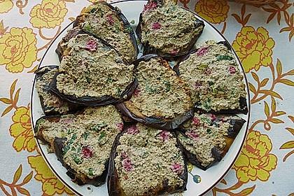 Georgische Auberginen mit Nüssen 5