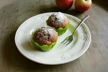 Apfel - Marzipan - Muffins 9