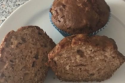 Apfel - Marzipan - Muffins (Bild)