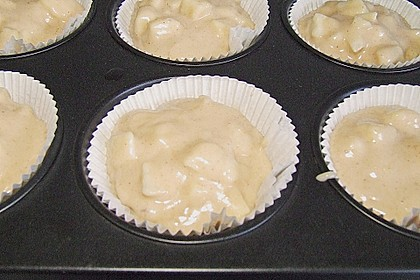 Apfel - Marzipan - Muffins 10